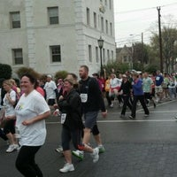 Photo taken at Monument Ave 10k 2012 by Shawn M. on 3/31/2012