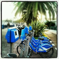 Photo taken at Vélo Bleu (Station No. 22) by Iarla B. on 5/11/2012