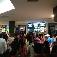 Photo taken at Super Cines - Puente Real by Rafael A. on 8/24/2012