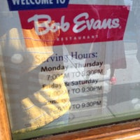 Photo taken at Bob Evans Restaurant by Jason C. on 6/11/2012
