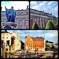 Photo taken at Stockholm by riccardo k. on 6/4/2012