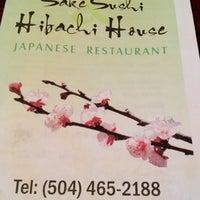 Photo taken at Sake Sushi Hibachi House by Michael C. on 9/5/2012