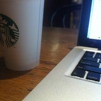 Photo taken at Starbucks by Liz L. on 5/13/2012