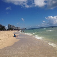 Photo taken at Fort Lauderdale Beach by Alexio G. on 8/9/2012