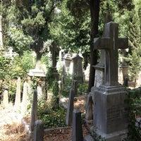 Photo taken at Feriköy İslam Mezarlığı by Jake C. on 7/21/2012