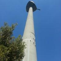 Photo taken at Donauturm by Thomas L. on 8/14/2012