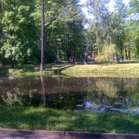 Photo taken at Arkādijas parks by Armands B. on 5/27/2012