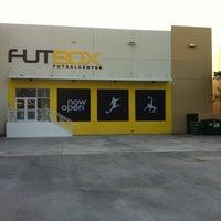Photo taken at Futbox Futsal Center by Gustavo M. on 4/19/2012