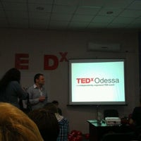 Photo taken at TEDx Odessa Change 06.04.2012 by Alexander L. on 2/29/2012