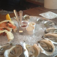 Photo taken at Thames Street Oyster House by Colleen P. on 8/5/2012