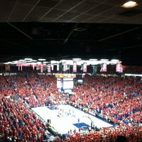 Photo taken at McKale Center by Amber J. on 2/25/2012