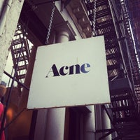 Photo taken at Acne Studios by Nick P. on 2/22/2012