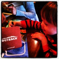 Photo taken at Outback Steakhouse by Alex R. on 3/30/2012