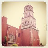 Photo taken at Templo de San Francisco by Juan M. on 8/18/2012