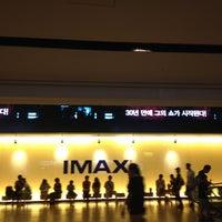 Photo taken at CGV Yongsan by Anna Y. on 8/26/2012