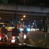 Photo taken at Wat Rama IX Intersection by Somkanae C. on 7/29/2012