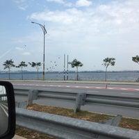 Photo taken at Pantai Lido by Mohd Shaharizan™ on 8/6/2012