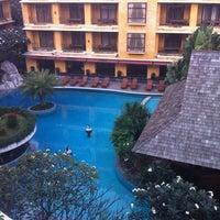 Photo taken at Mantra Pura Resort And Spa Pattaya by Prachaya K. on 2/2/2012