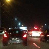 Photo taken at Lebuhraya Persekutuan (Federal Highway) by William Lye Wei Wern on 2/26/2012