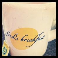 Photo taken at Fred's Breakfast by BucksHappening on 4/27/2012