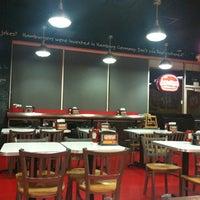 Photo taken at MOOYAH Burgers, Fries & Shakes by Josiah D. on 8/29/2012