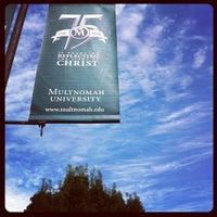 Photo taken at Multnomah University by Kiel N. on 8/20/2012