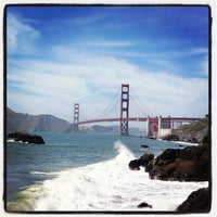 Photo taken at Baker Beach by Frederik H. on 6/18/2012