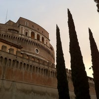 Photo taken at Giardini di Castel Sant'Angelo by alisa k. on 4/5/2012