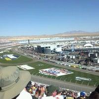Photo taken at Las Vegas Motor Speedway by William S. on 3/10/2012