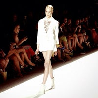 Photo taken at The Stage At MBFW by Biel P. on 9/13/2012
