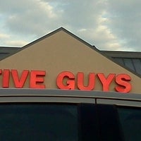 Photo taken at Five Guys by Carlos H. on 5/4/2012