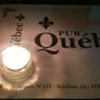 Photo taken at Pub Québec by Naty L. on 6/16/2012