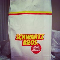 Photo taken at Schwartz Bros by Thomas A. on 2/18/2012