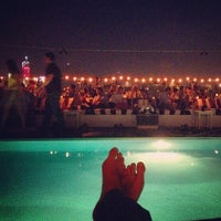 Photo taken at Soho House Rooftop by David P. on 8/9/2012