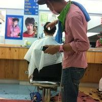 Photo taken at ร้านตัดผมชายเสน่ห์กร2 by Kikky A. on 7/1/2012
