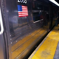 Photo taken at MTA Subway - Bay Parkway (D) by Phillip Michael S. on 3/10/2012