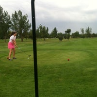 Photo taken at Overland Park Golf Course by 🎯Eric💀 . on 7/28/2012