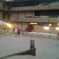 Photo taken at Beach by Cinzia D. on 8/14/2012