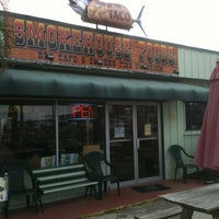 Photo taken at Smokehouse Foods by Browns Taxidermy on 4/6/2012