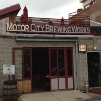 Photo taken at Motor City Brewing Works Inc by Alaina on 4/15/2012