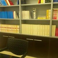 Photo taken at Notaria Andrés Sexto Presas by ARA on 5/23/2012
