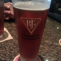 Photo taken at BJ's Restaurant and Brewhouse by Amanda S. on 4/14/2012