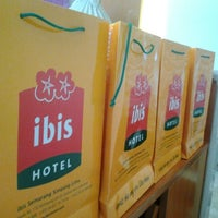 Photo taken at Ibis Hotel by Gamma A. on 4/21/2012
