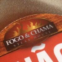 Photo taken at Fogo & Chama Steak House by Raniery M. on 6/9/2012