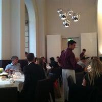 Photo taken at Holbein's Café-Restaurant by Hans-Jürgen on 8/16/2012