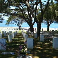 Photo taken at Fort Rosecrans National Cemetery by Carmen K. on 5/28/2012