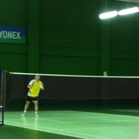 Photo taken at BJGCR Badminton Court by Kim Seng C. on 3/11/2012