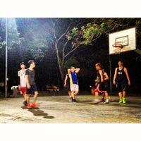 Photo taken at Pertama Basketball Court by Keat L. on 7/4/2012