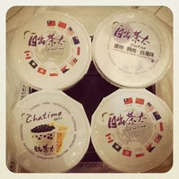 Photo taken at Chatime by Caryn Y. on 4/30/2012