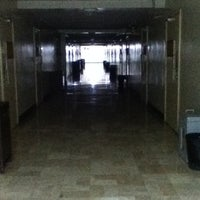 Photo taken at Gokongwei Hall by Pierce Jason J. on 4/17/2012
